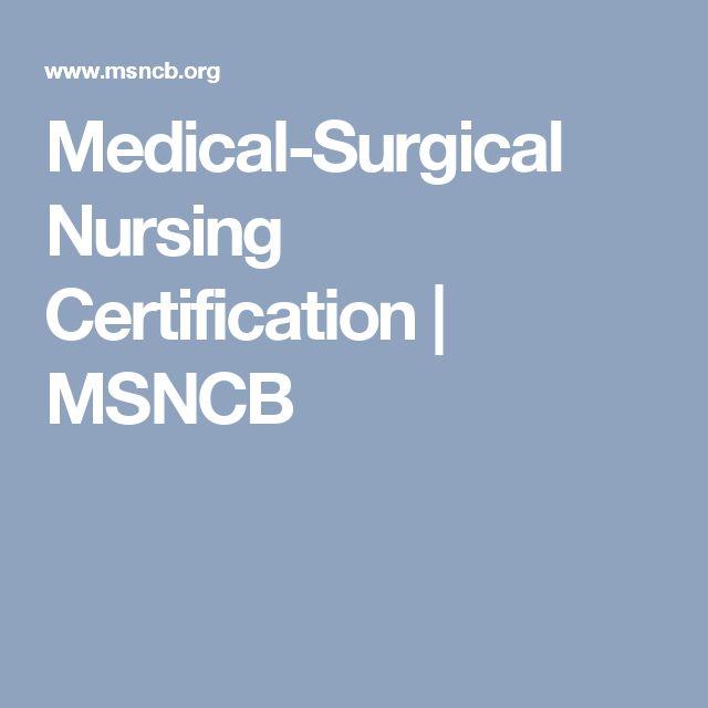 155 best Nursing Certifications images on Pinterest