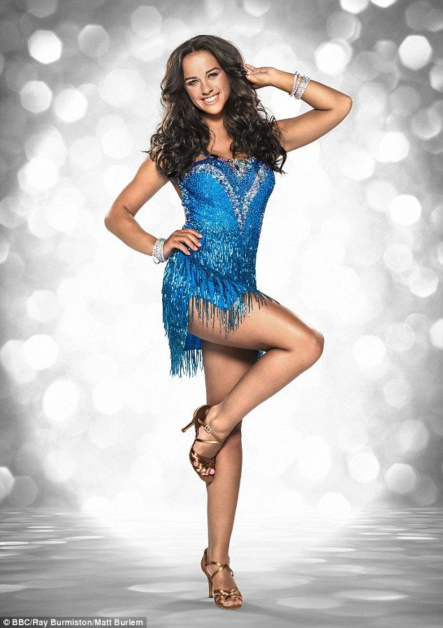 And they're off! Georgia and the rest of this year's celebrity Strictly Come Dancing contestants will be paired up with their professional dance partners for the first time on Saturday's launch show