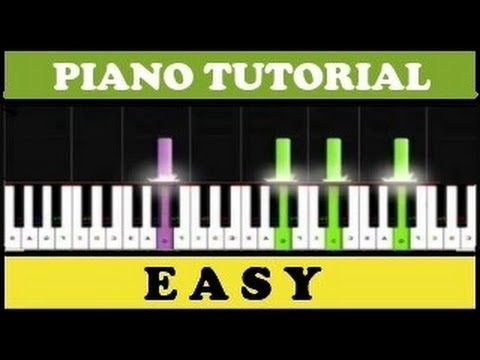 Beethoven - Para Elisa | Fur Elise | Easy Piano Tutorial (Synthesia) - YouTube
