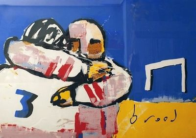 Herman Brood, American football  93 x 123