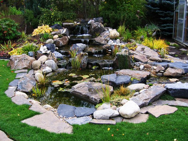 17 best images about pondless waterfall on pinterest for Landscape design calgary