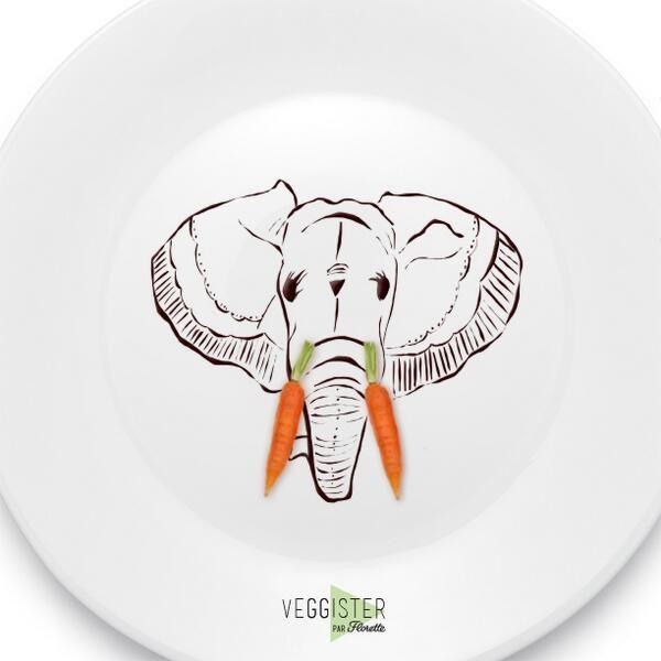 Fortifiez vos défenses, croquez des carottes ! ;) #Veggister #FoodArt