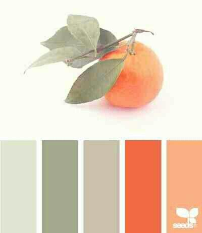 Mandarin palette