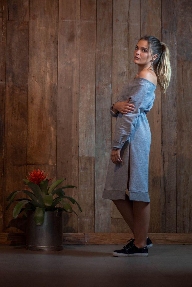#clothes #look #style #comfortclothes #dress #boho #bohostyle #gypsy #lookbook #model #boilersuit #tendência #hat  #summer #grey #rihannastyle #rihanna