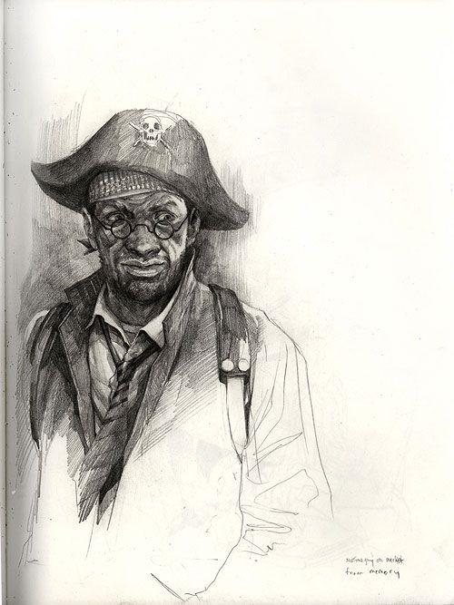 wesley burt illustration illustrator drawing sketch san fran concept art
