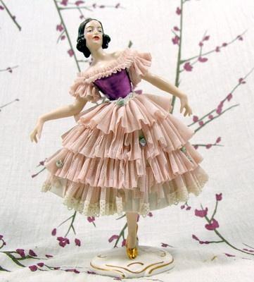 Wilhelm Rittirsch Dresden Art Made in Germany German Girl Woman Figurine WR | eBay