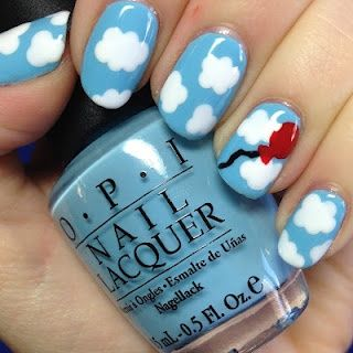 One of our Twitter fans put us on to her friends nail art blog - look how clever she is! adorebeauty