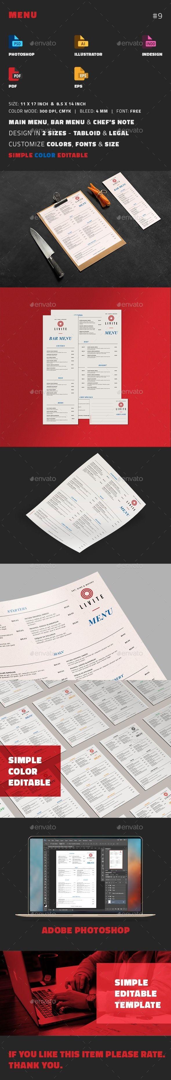 Mejores 1765 imágenes de Restaurant Menu Design en Pinterest ...