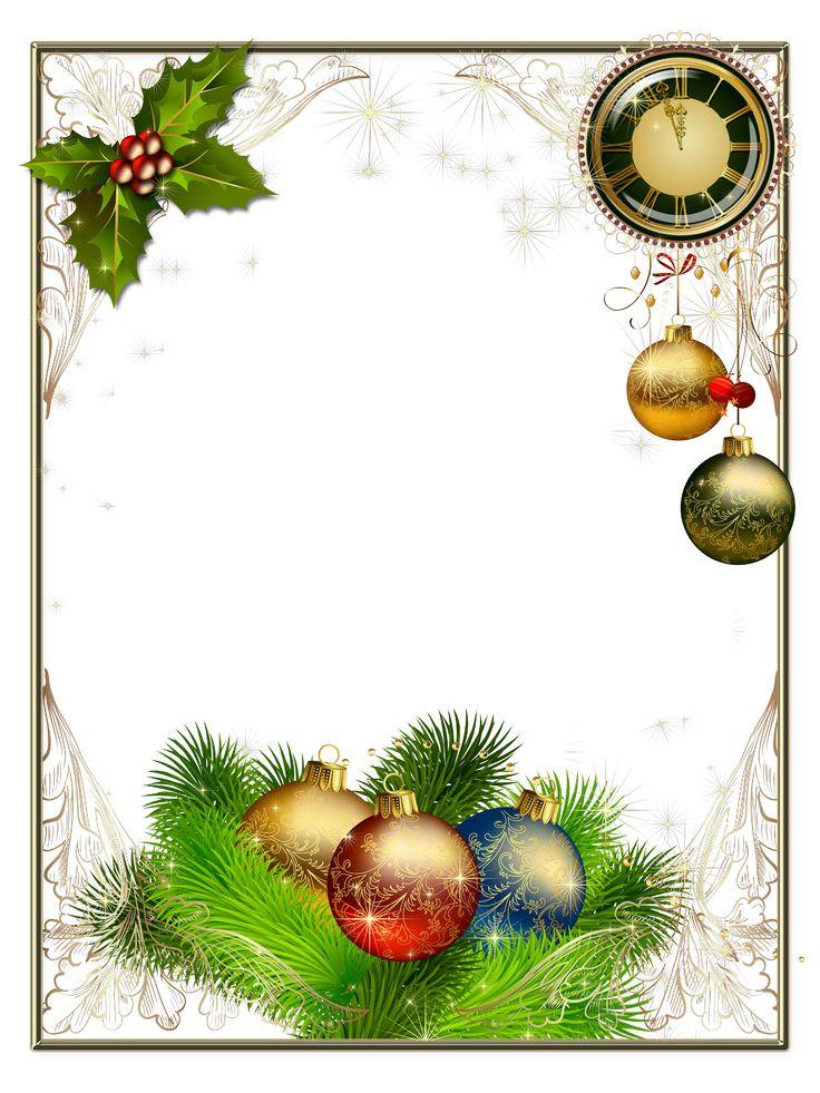 Marcos y bordes: Tarjetas de Navidad