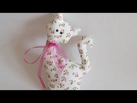 Wie erstelle ich ein hübsches Stoffspielzeug Katze – DIY Basteltipp – Guidecentral – YouTu …  – toy n doll