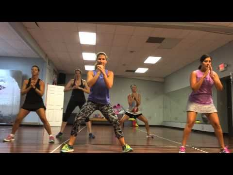 Squat routine - Dance Fusion  On the Floor Fitness