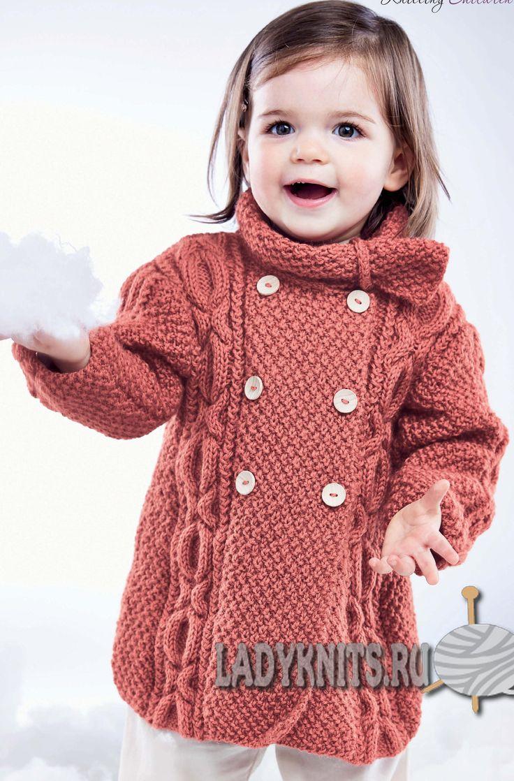 схема вязаного платья для девочки 4х лет