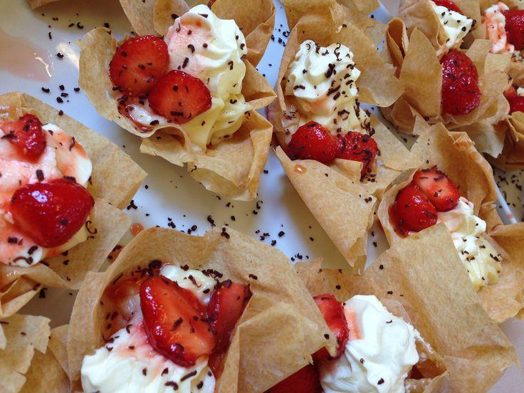 The London School of English - summer dessert