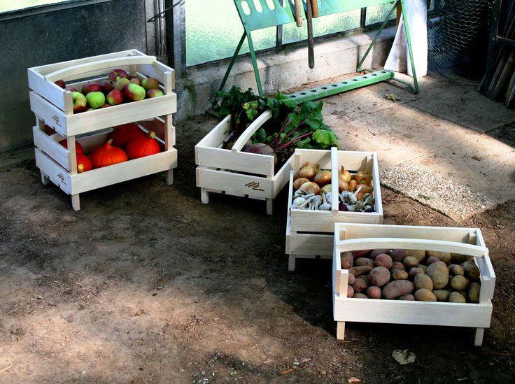 Stapel-Stiege, gardening, Vorratshaltung, Garten. Haus Hall, Werkstatt für behinderte Menschen. Design: arbor felix