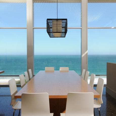 Port Adelaide beach house in Adelaide, South Australia #adelaide #portadelaide #house #beach #realestate #dining #interior