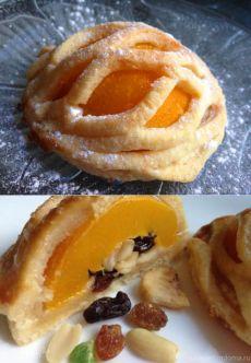 Мини-пироги с персиками | Официальный сайт кулинарных рецептов Юлии Высоцкой
