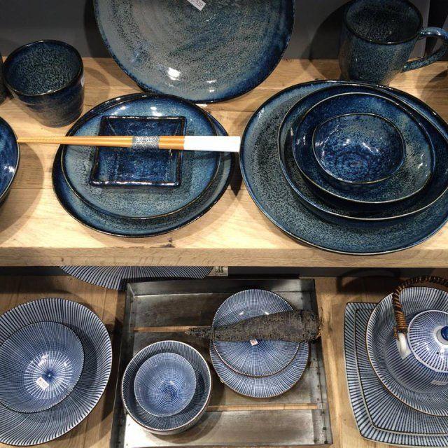 Une vaisselle japonaise - homemade plates