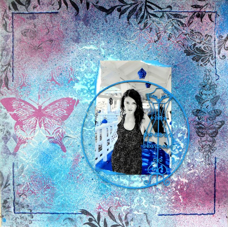 DARK BUTTERFLY http://bellaideascrapology.blogspot.ca/2014/05/dark-butterfly.html