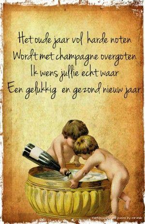 New jaars wens