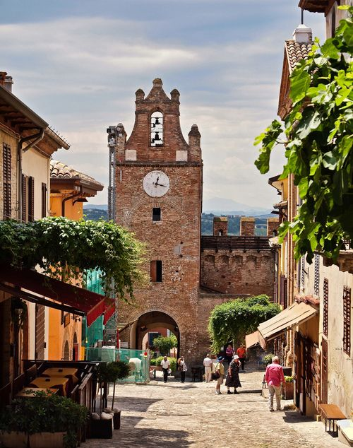 Gradara, province of Pesaro Urbino , region of Marche, Italy