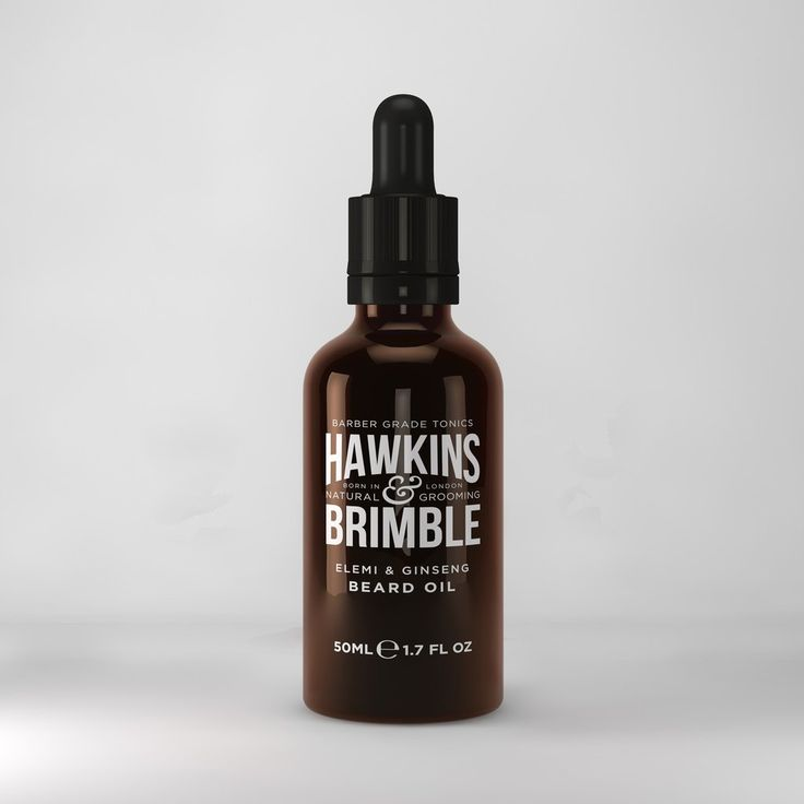 Hawkins & Brimble Beard Oil 50ml  www.hawkinsandbrimble.co.uk