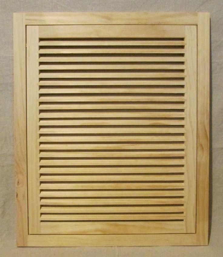 Wood Door Vent Grille : Ideas about return air vent on pinterest