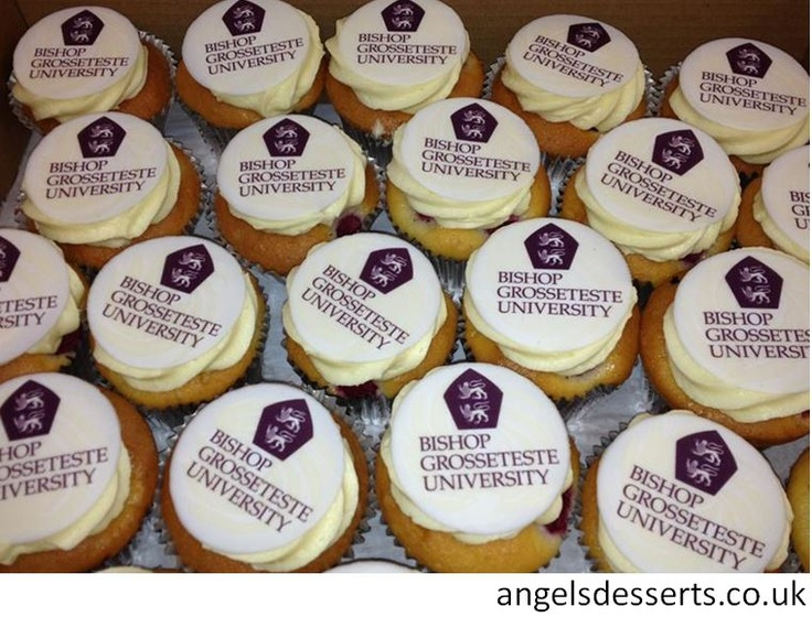 have your logo or message printed onto edible sugar paper