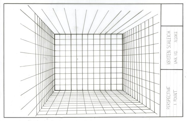 1000 images about perspective on pinterest sketching for Room design template grid