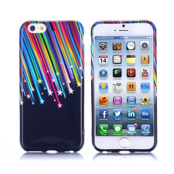 Vallende sterren TPU hoesje voor iPhone 6 Plus