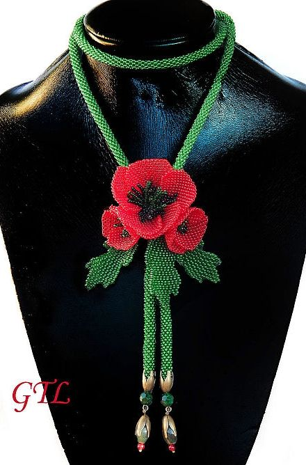 Beadiful Jewelry Necklaces by Tatiana Gulyaev featured EyeCandy in Bead-Patterns.com Newsletter!