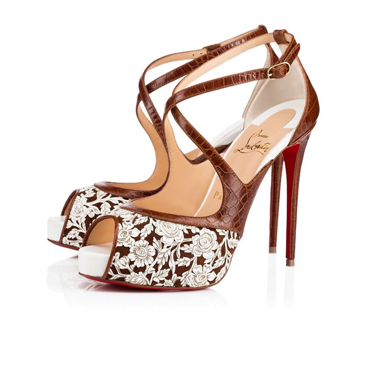 Christian Louboutin United States Official Online Boutique - Mira Bella 120  Version Multi Leather available online. Discover more Women Shoes by  Christian ...
