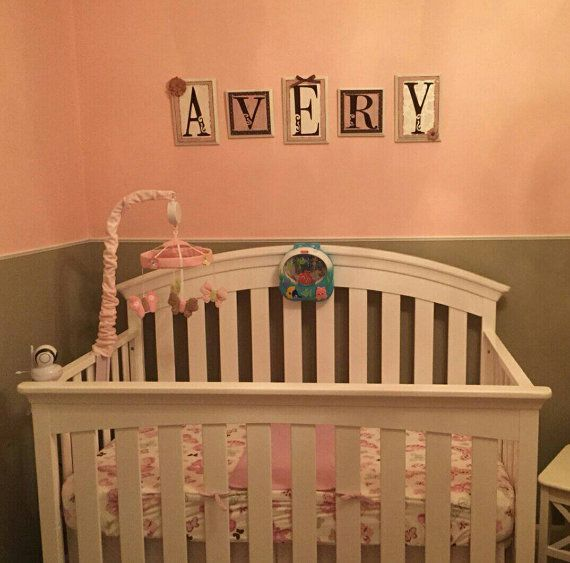 Check Out This Item In My Etsy Https Www Baby Name Lettersletter Walltree Cotbaby Nursery