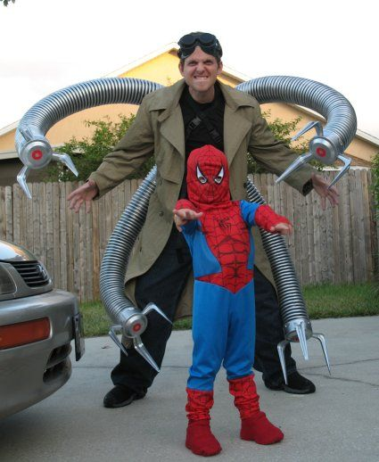 doc ock costume | Spiderman and Doc Ock Halloween Costumes