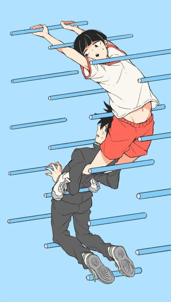 Mob Psycho 100: Kageyama Shigeo and Ritsu