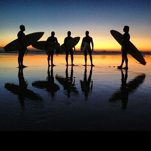 Surfers in Agadir Morocco by @hijack