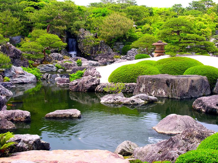 Best 25 japanese rock garden ideas on pinterest for Zen garden waterfall