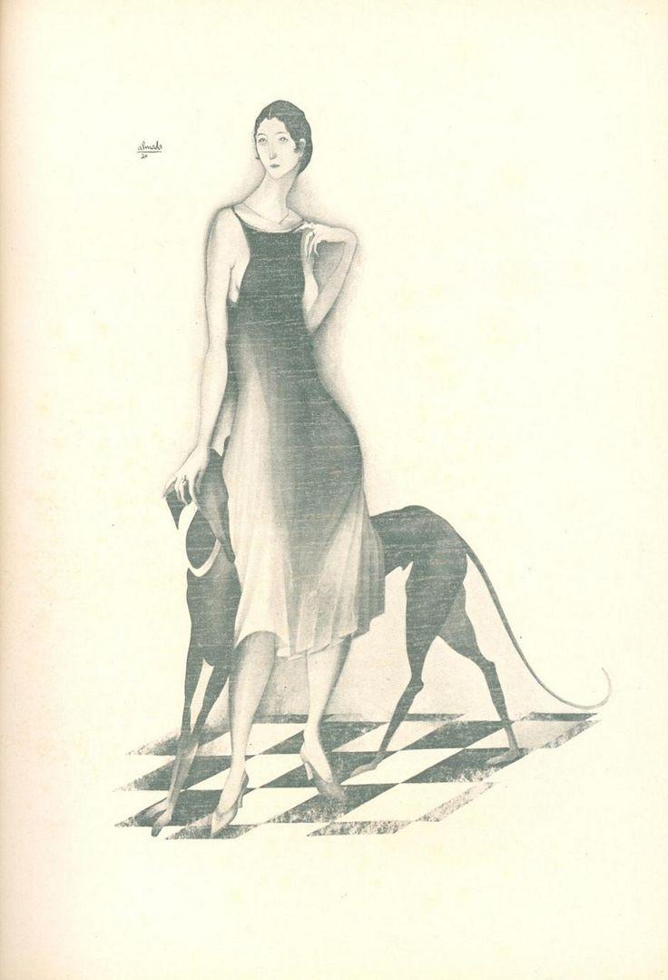 [ilustração][142 KB]  Negreiros, Almada, 1893-1970