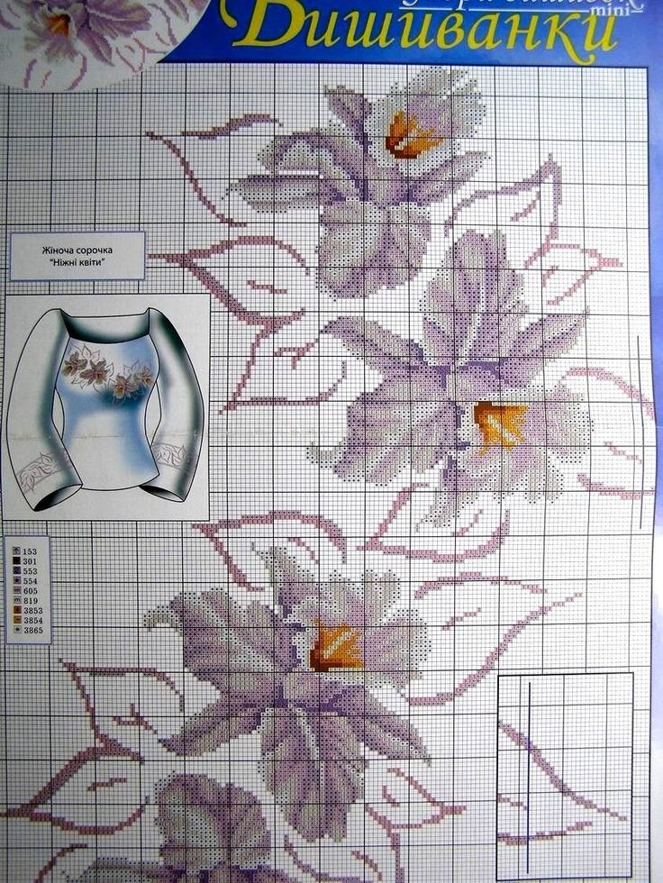 Details about Cross stitch Pattern Ukrainian Vyshyvanka Embroidery Men Women…