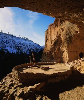 Anasazi cliff dwellings, Mesa verde National Park, Colorado
