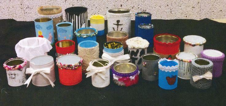 """Design/redesign"" 2014. Tin cans"