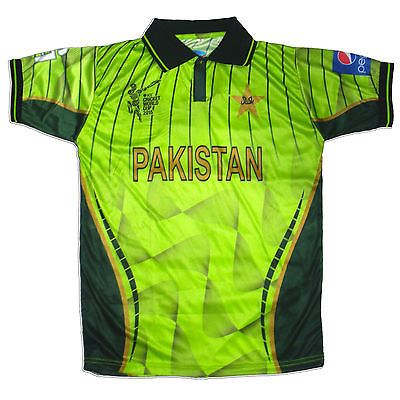2015 world cup mens ca #pakistan official #cricket team #shirt uk sizes,  View more on the LINK: 	http://www.zeppy.io/product/gb/2/261789813411/