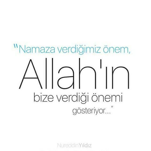 """""""Namaza verdiğimiz önem, Allah'ın bize verdiği önemi gösteriyor.""""   [Nureddin Yıldız]  #namaz #önem #Allah #değer #göster #nurettinyıldız #nureddinyıldız #türkiye #ilmisuffa"""