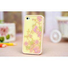 #Banggood Милые маленькие цветы шаблон пластиковый защитный чехол для iPhone 4 и 4S (65983) #SuperDeals