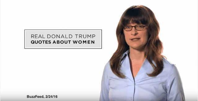 trump quotes about women