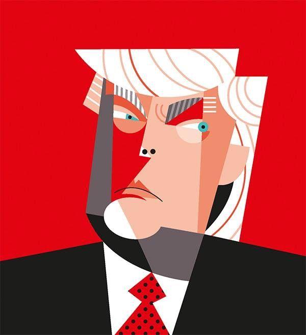 Donald Trump by Pablo Lobato