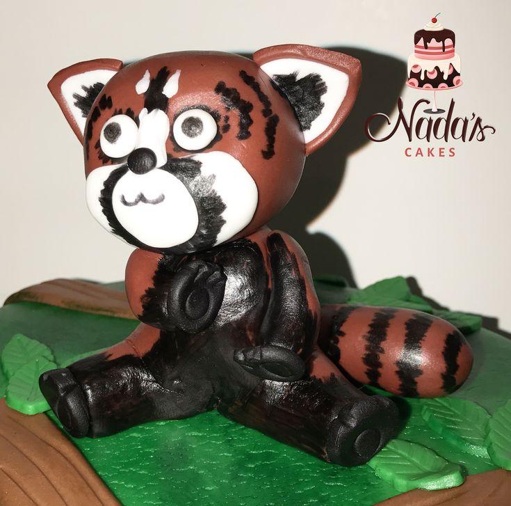 Cute Red Panda Topper