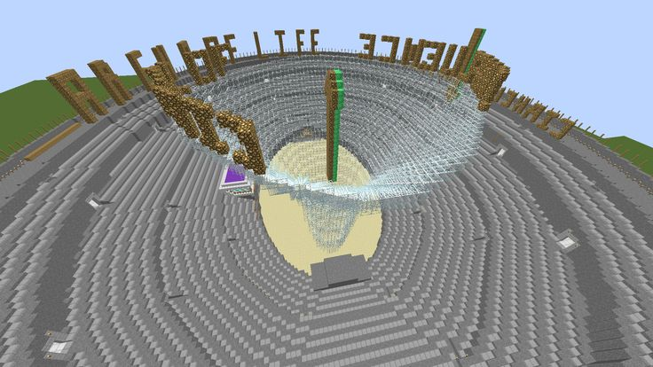 Week 5: Assignment. Re-done week 4 in 3D MineCraft 4/7