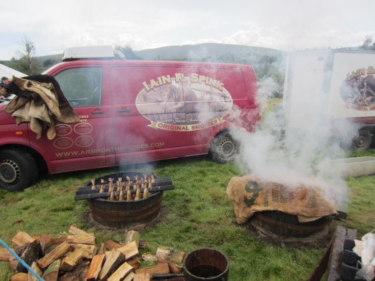 Spinks Arboath smokies at Moy games fair