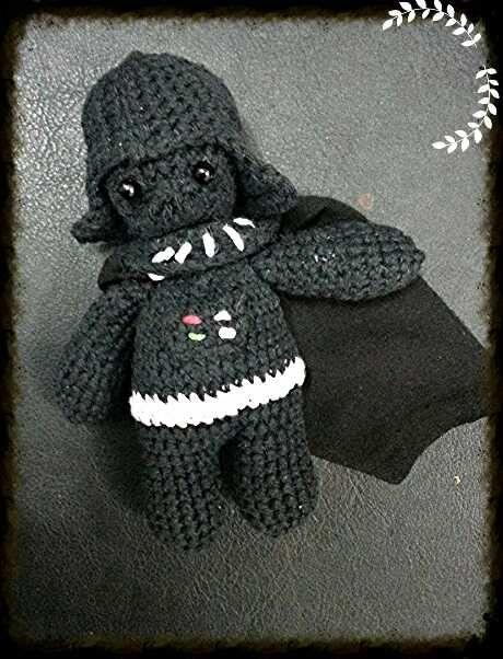 Darth Vader amigurumi https://www.facebook.com/Talyhechoamano/?ref=nf