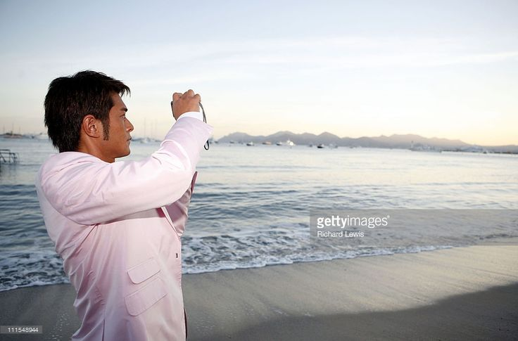 Louis Koo during 2007 Cannes Film Festival - Miramar 'Triangle' Party in Cannes, France.